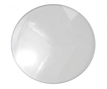 Kunststoffgläser CR 39 Plan L 50 Hart Set entspiegelt, Dicke 1,9 mm. Farblos.